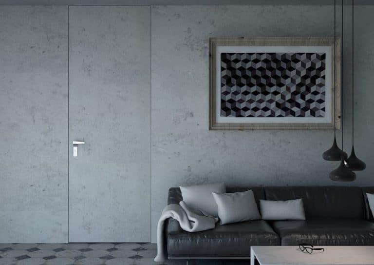 nowoczesne drzwi projektowanie wnętrza