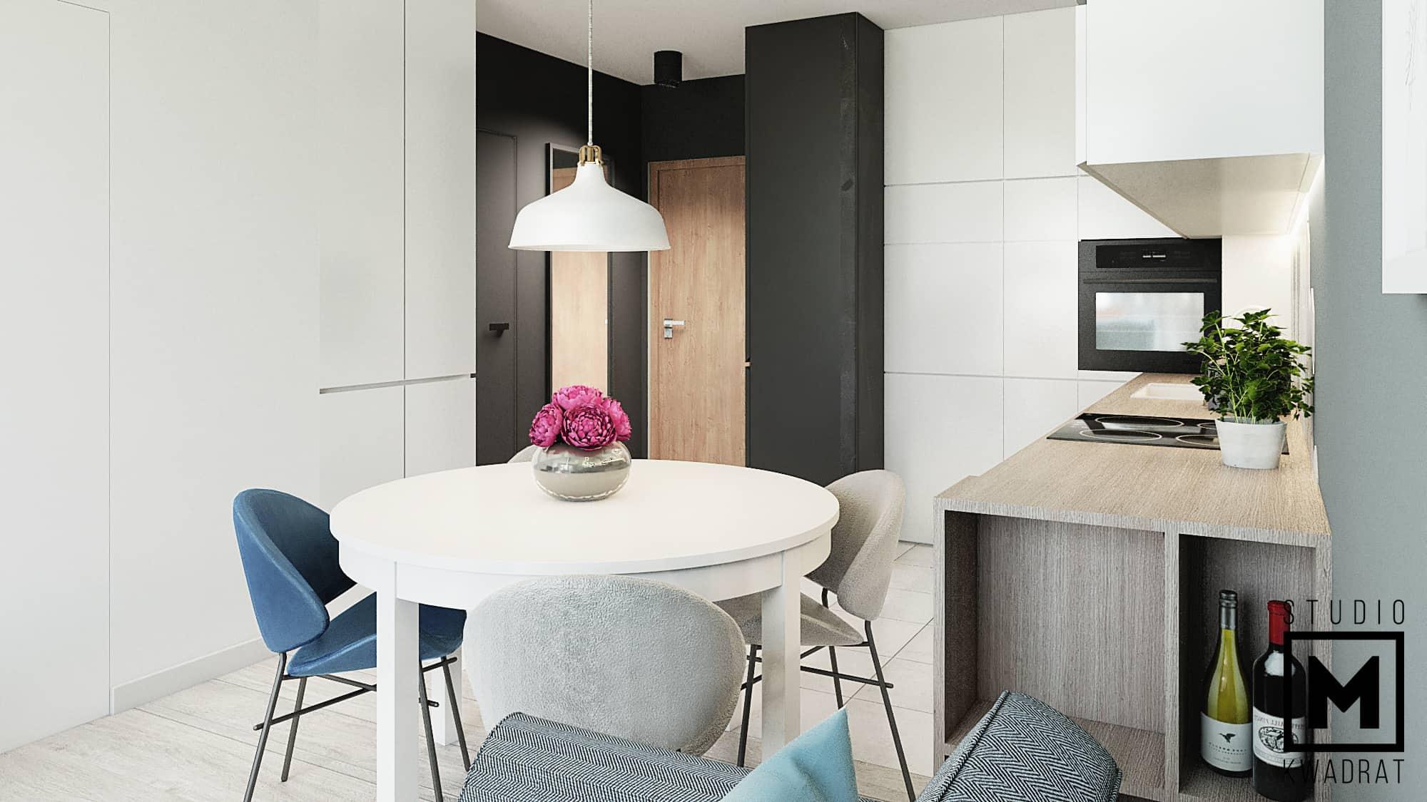 mieszkanie toruń kuchania salon