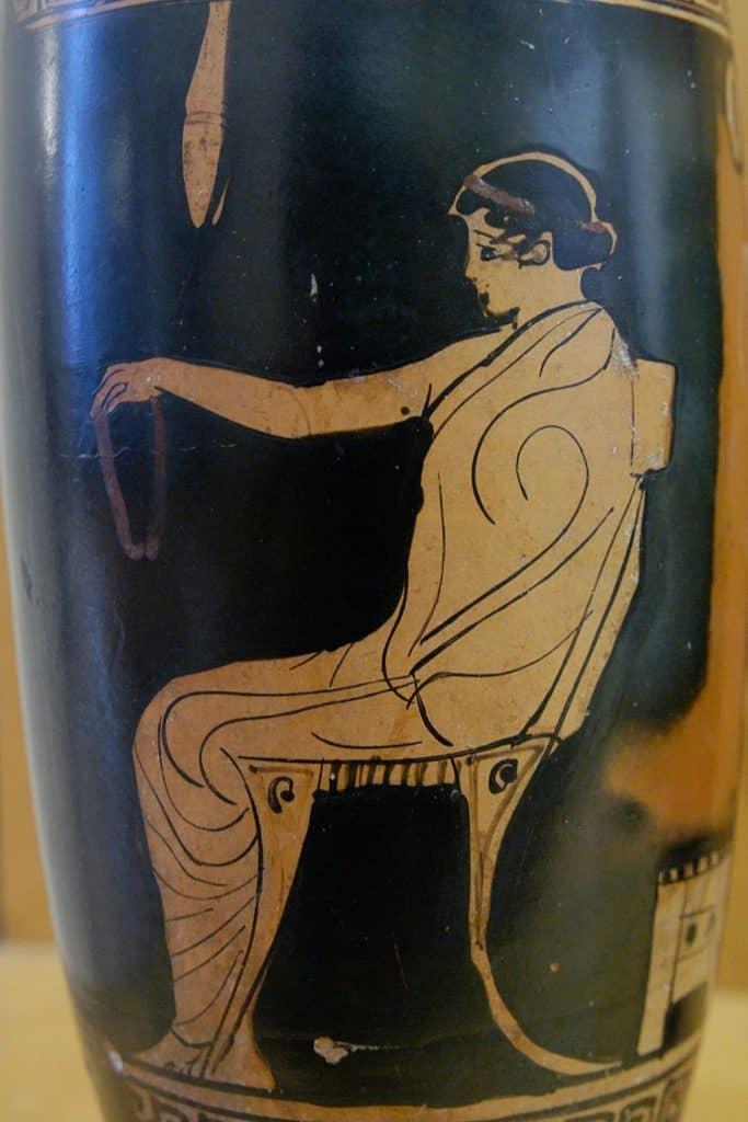 waza grecka meble klismos