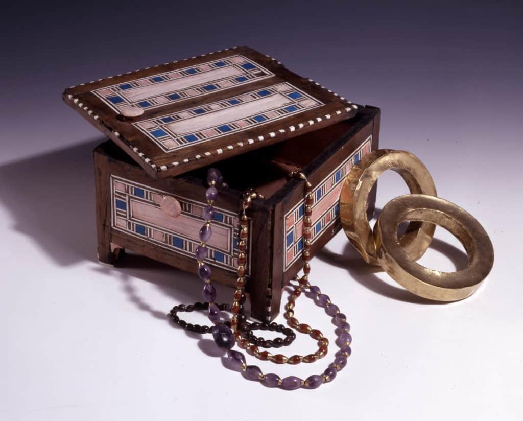 szkatułka egipska starożytność