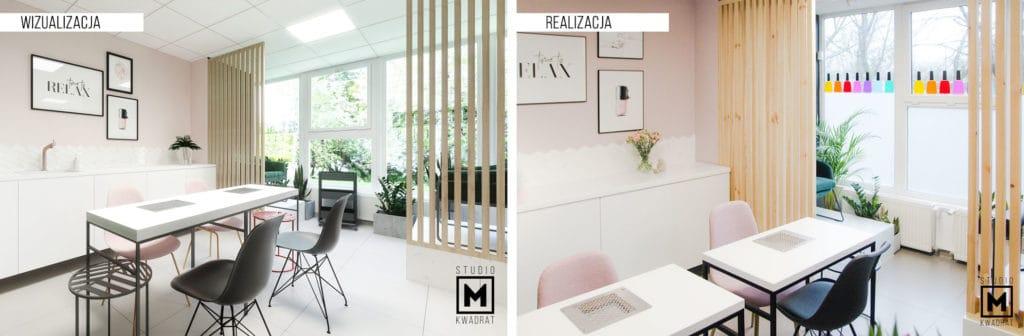 Zdjęcie projektu architektury wnętrz oraz wizualizacja 3d
