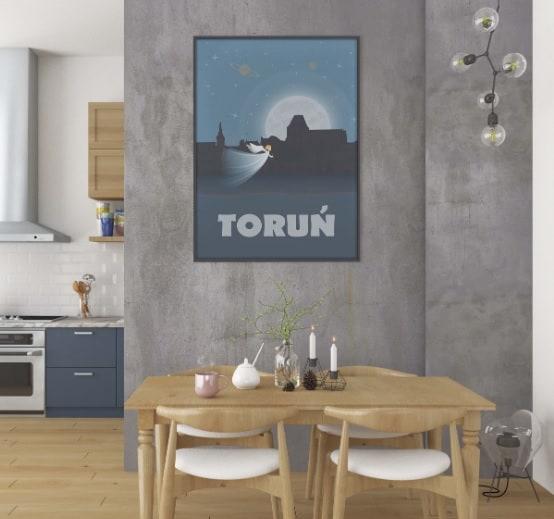 plakat tematyczny Toruń