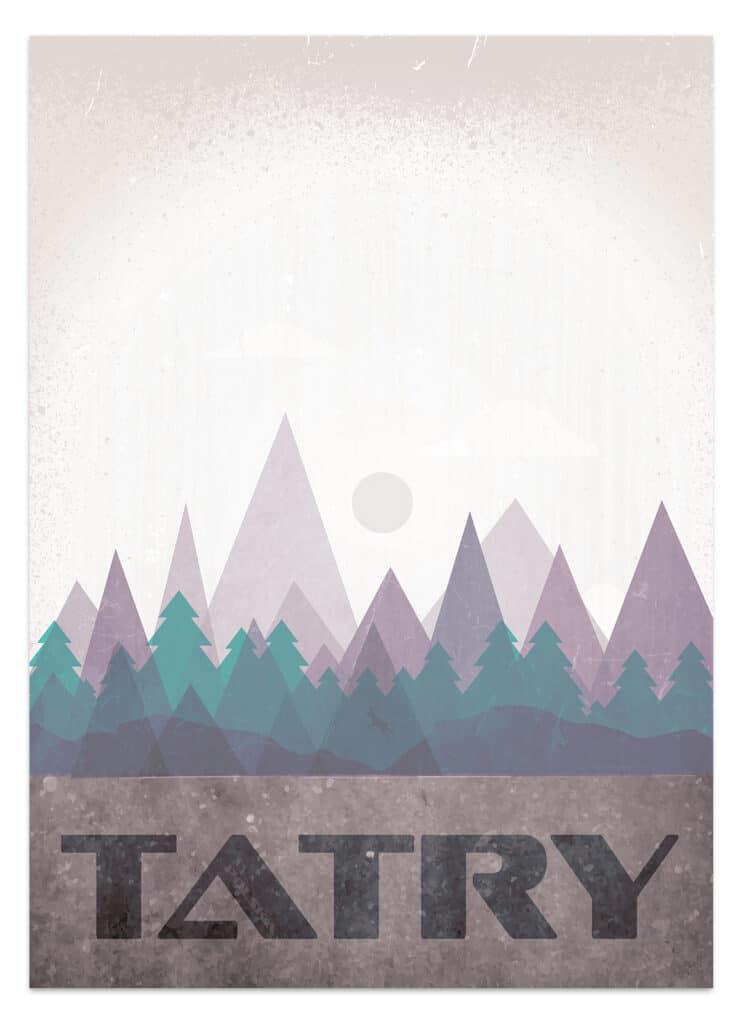 plakat tematyczny tatry